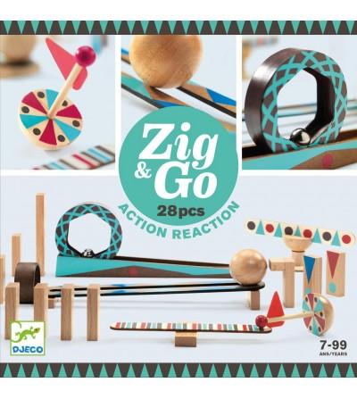 ZIG & GO ERAIKUNTZA 28 PCS