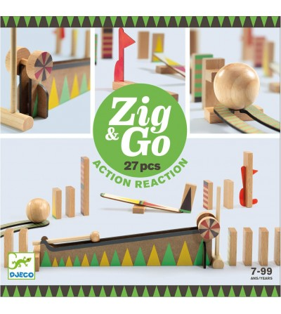 CONSTRUCCION ZIG & GO - 27 PCS