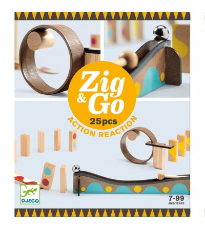 CONSTRUCCION ZIG & GO - 25 PCS