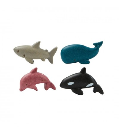 SET ANIMALES MARINOS PLANTOYS