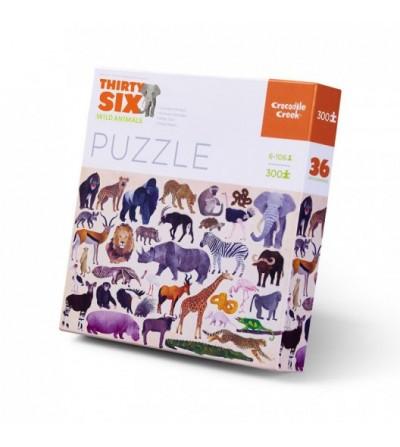 Puzzle 36 Wild Animals