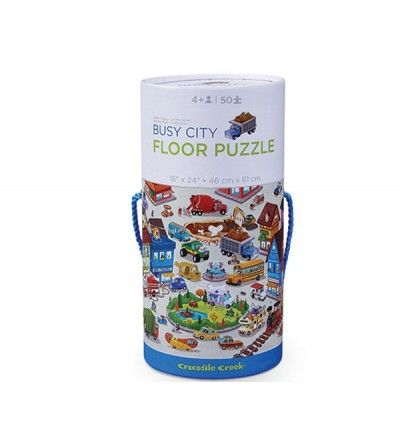 Puzzle Canister 50 p Busy City