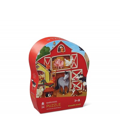 Puzzle Mini Shaped 24p Farm